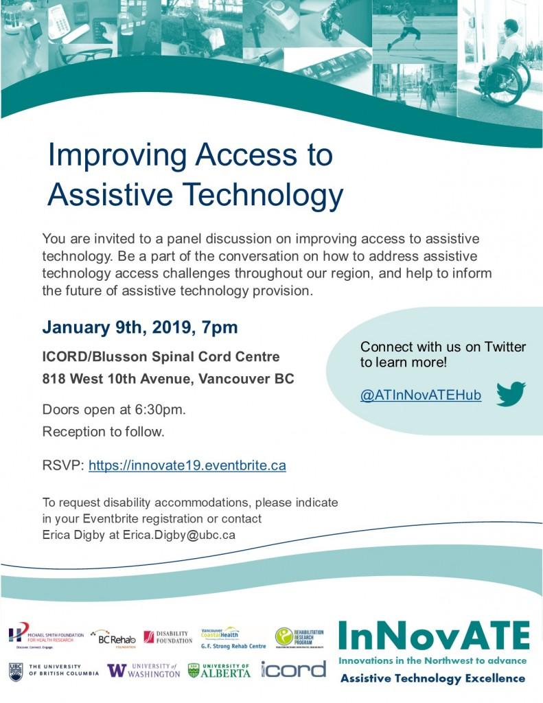 Innovate Panel Seminar RSVP https://innovate19.eventbrite.ca